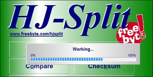 HJ-Split - Imagem 1 do software