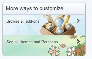 Mais formas de personalizar