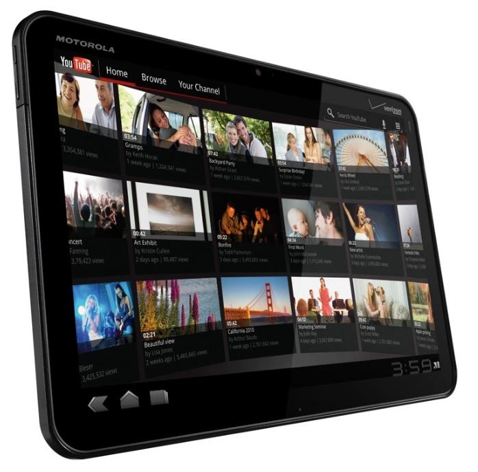 Motorola Xoom, o primeiro tablet com Android 3.0