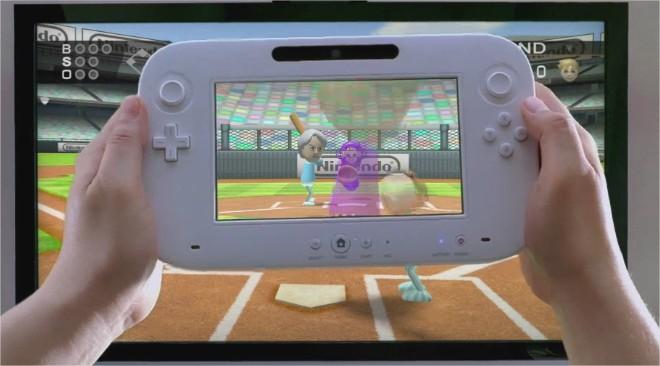 O controle do Wii U.