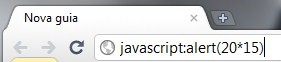 Montando o cálculo no Chrome