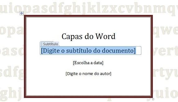Como Criar Capas Para Documentos Do Word Tecmundo