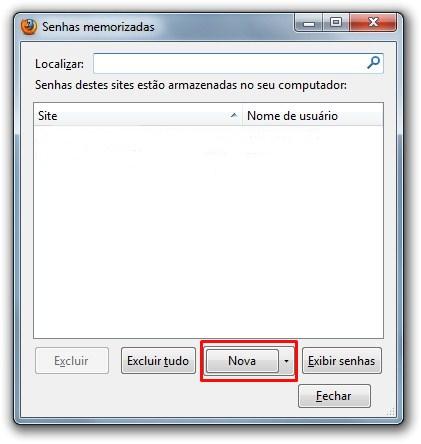 Gerenciador de senhas para o Firefox.