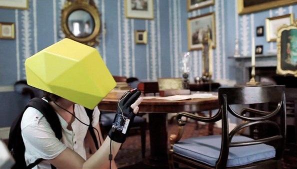 Imagens do capacete