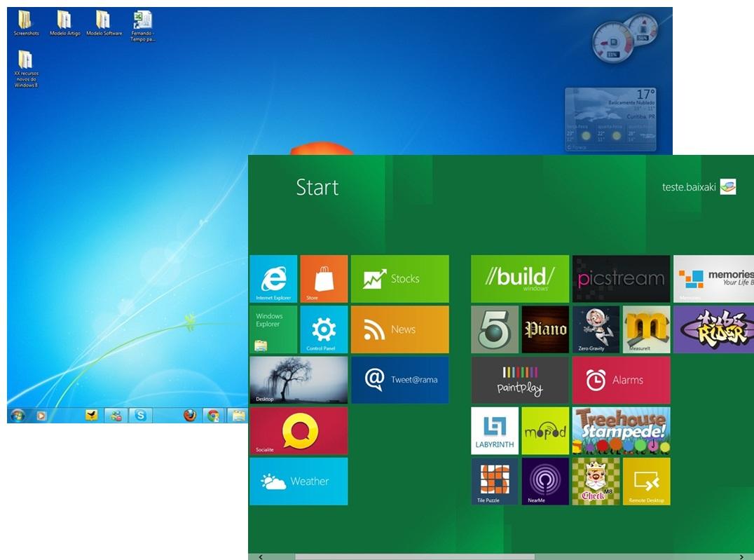 543b9868658 AmpliarA diferença nas interfaces do Windows 7 e Windows 8.