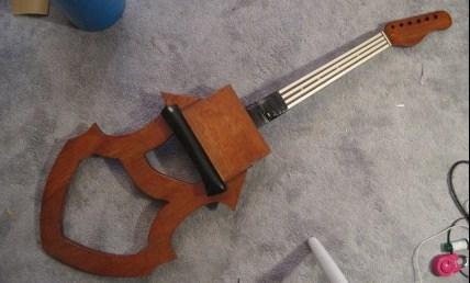 A estrutura do instrumento
