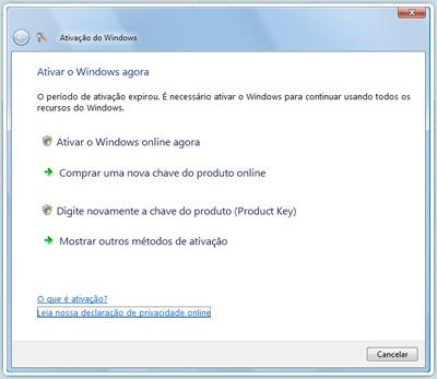 chave do produto product key windows 7 ultimate original