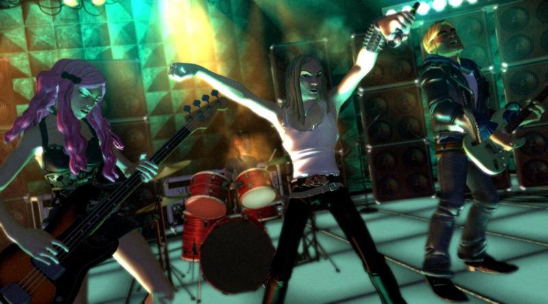 Rock Band permite ter uma banda de verdade.