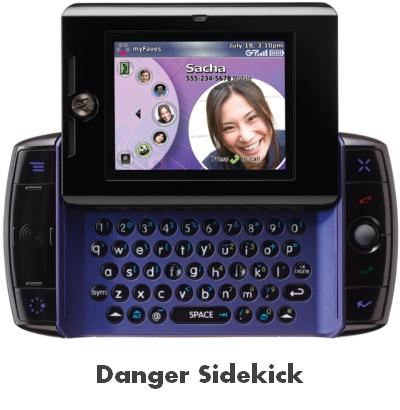 Será que o smartphone da Microsoft será como o Danger Sidekick?