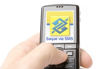 Use o celular para sacar seu dinheiro