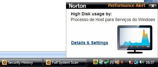 Norton dá show no  visual