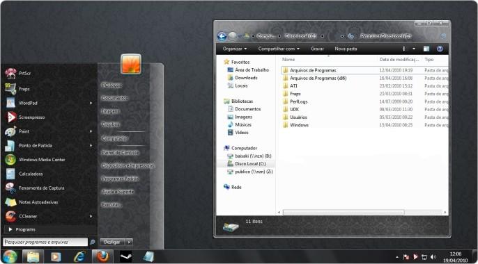 A era Vitoriana no  seu Windows 7