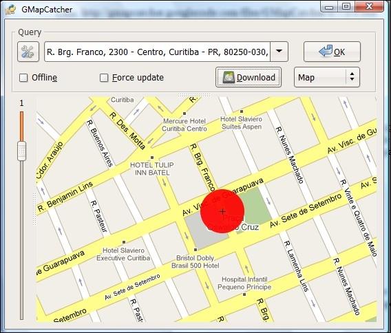 Mapas em qualquer  lugar