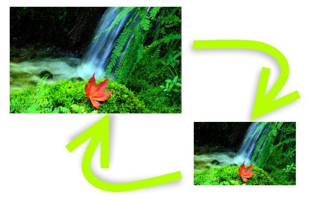 Redimensione suas imagens sem qualquer problema!