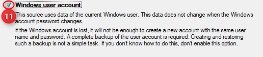 Windows User Account