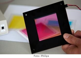 A pele eletrônica desenvolvida pela Philips.