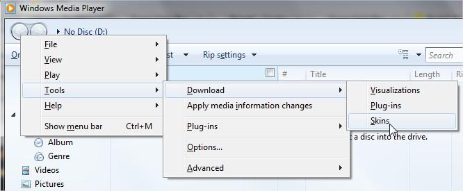 Siga os passos para instalar suas skins no WMP 12!