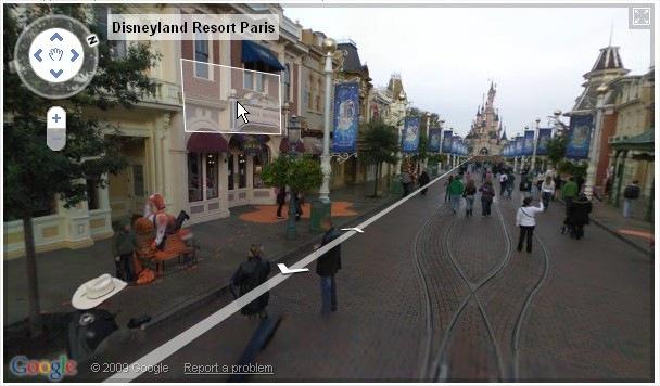 Foto da Disneylândia francesa.