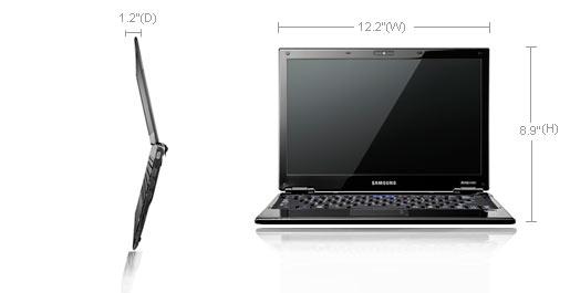 Notebooks da série X360 da Samsung.