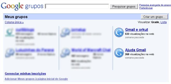 O Google Groups foi a primeira aquisição da empresa e logo se tornou um sucesso!