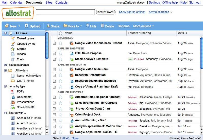 Armazene seus documentos todos na sua Conta Google!