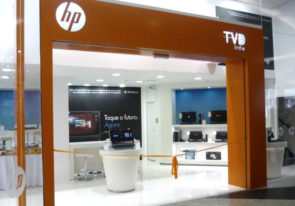 Nova loja HP em Curitiba
