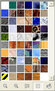 Utilize texturas para preencher espaços nas suas imagens e desenhos!