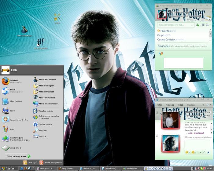 Seu desktop pronto para arrasar com a galera
