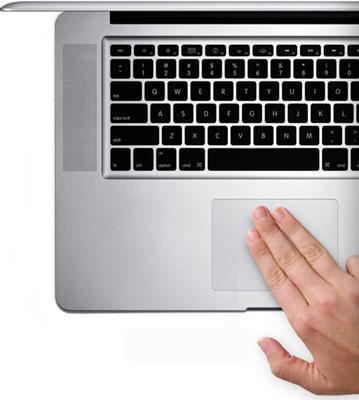 Descubra o trackpad do Mac.