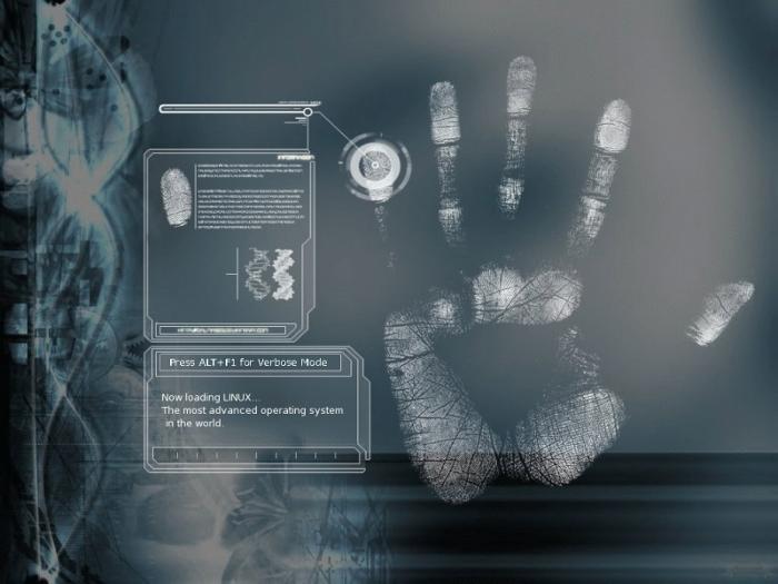 Tema para tela de usplash - Fingerprint