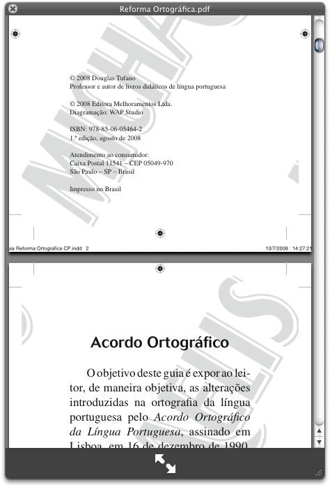 PDF, planilhas e arquivos de texto em geral.