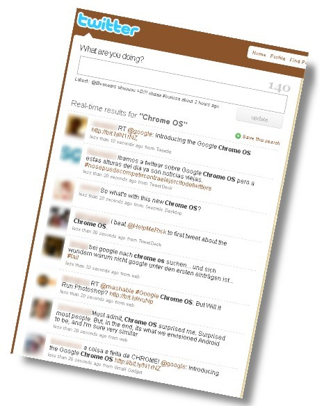 Usuários do mundo inteiro comentam no Twitter e em seus blogs!