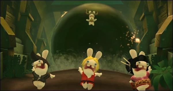 Rayman é capaz de desafiar o jogador a usar mesmo o controle.