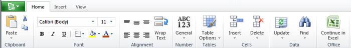 Excel Web
