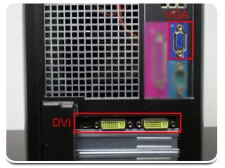 Diferença entre DVI e VGA.