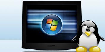 Linux e Windows em um mesmo servidor!