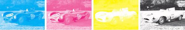 Separação de cores CMYK