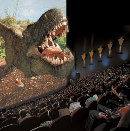 Cinema 3D é coisa do passado!