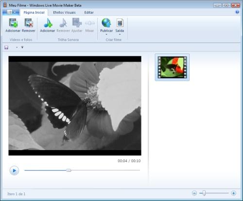 Windows Live Movie Maker Beta