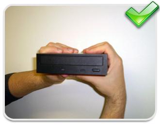 Assim como o HD, os drives também devem ser manuseados corretamente!
