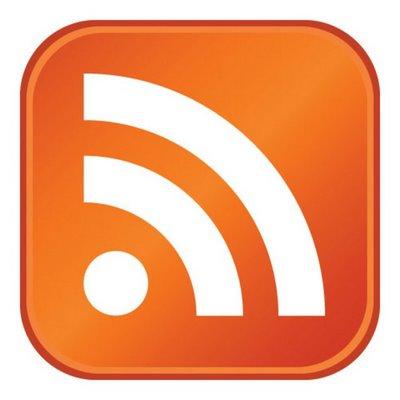 O ícone do RSS.