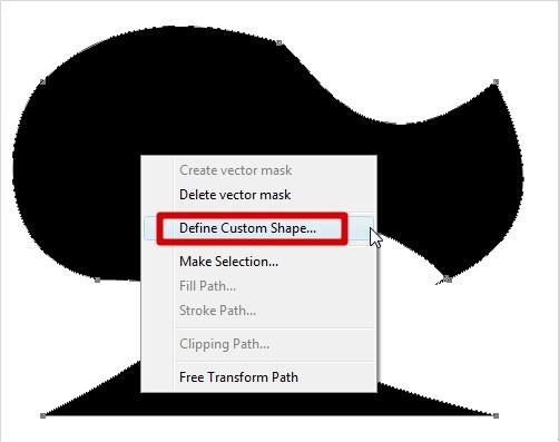 Clique com o botão direito para adicionar a forma!