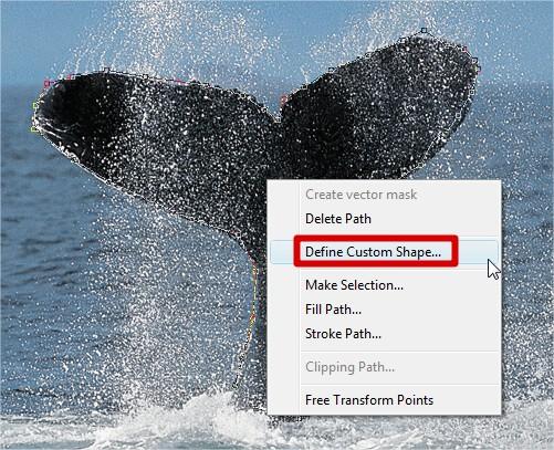 Clique com o botão direito para criar shapes!