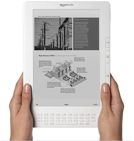 O Kindle, da Amazon, um ótimo exemplo de leitor digital.