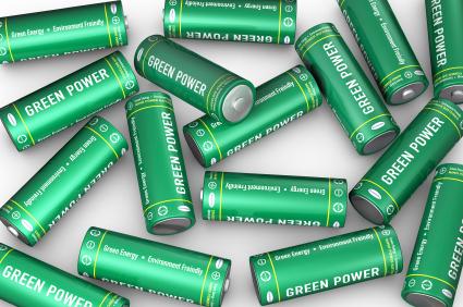 Pilhas para reciclagem