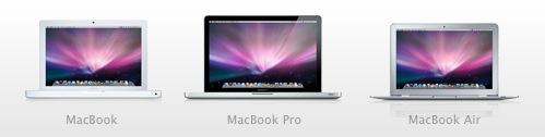 Novos MacBooks.
