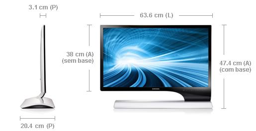 Análise: Samsung Monitor TV LED Série 7 (T27B750LB)