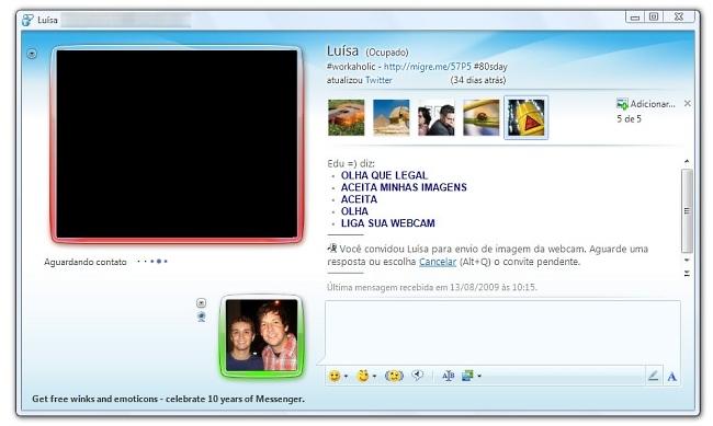 Etiqueta no MSN