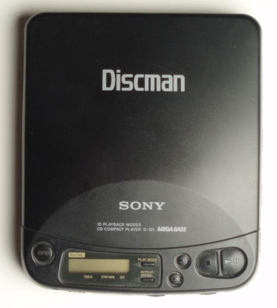 Sony Discman D121 (2001)