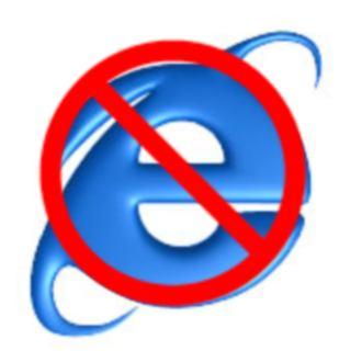 O IE6 é considerado como o